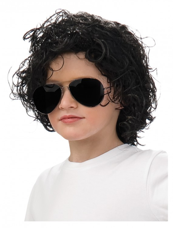 Kids Michael Jackson Wig, halloween costume (Kids Michael Jackson Wig)