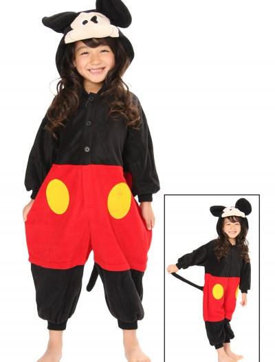 Kids Mickey Mouse Pajama Costume, halloween costume (Kids Mickey Mouse Pajama Costume)