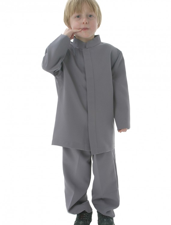 Kids Mini Grey Suit Costume, halloween costume (Kids Mini Grey Suit Costume)