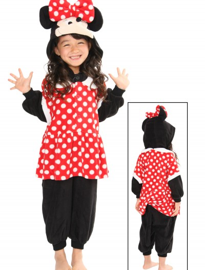 Kids Minnie Pajama Costume, halloween costume (Kids Minnie Pajama Costume)