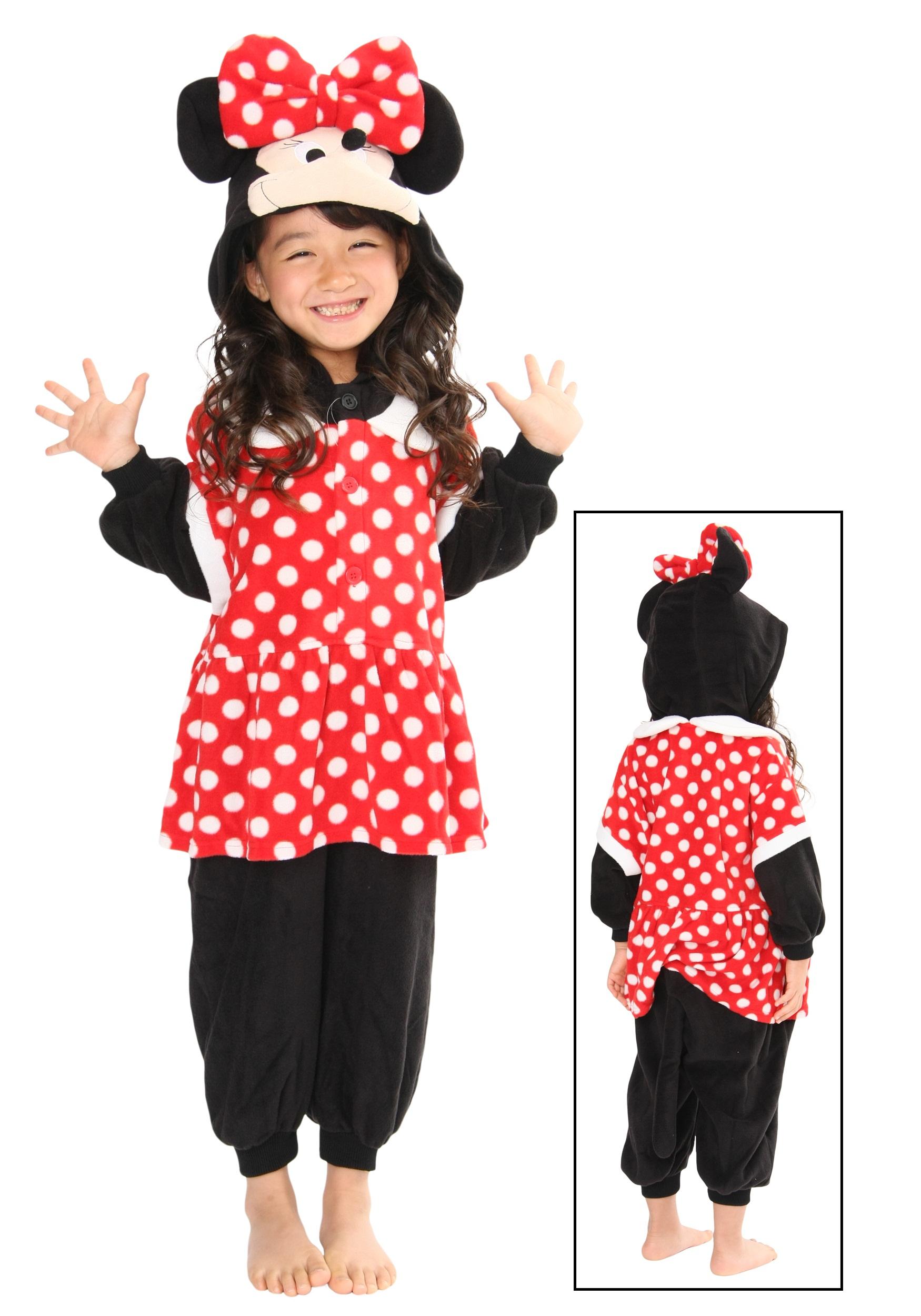 Kids Minnie Pajama Costume  sc 1 st  Halloween Costumes & Kids Minnie Pajama Costume - Halloween Costumes
