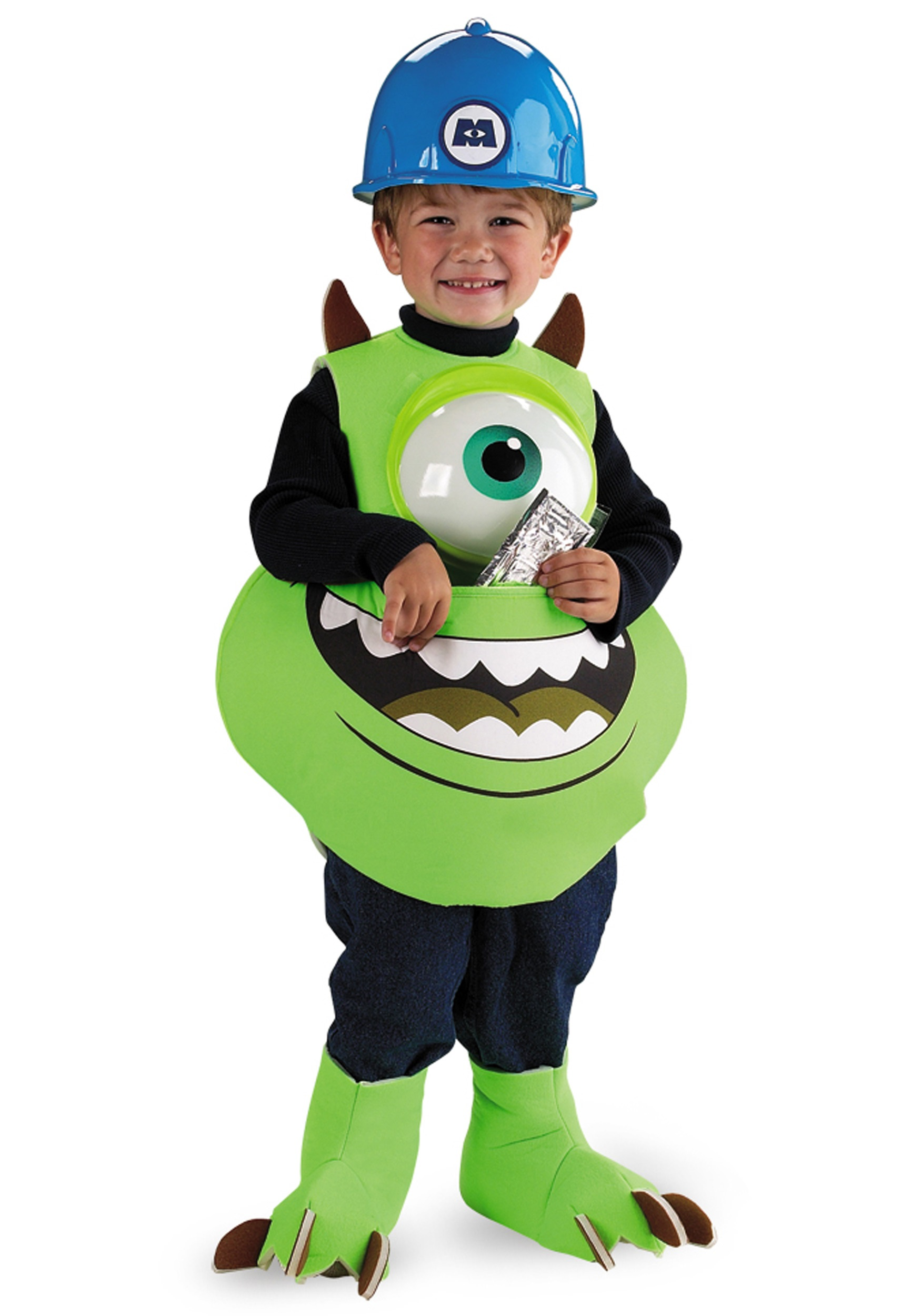 Kids Monster Mike Costume  sc 1 st  Halloween Costumes : mike monsters inc halloween costume  - Germanpascual.Com
