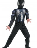 Kids Muscle Chest Black Spiderman Costume, halloween costume (Kids Muscle Chest Black Spiderman Costume)