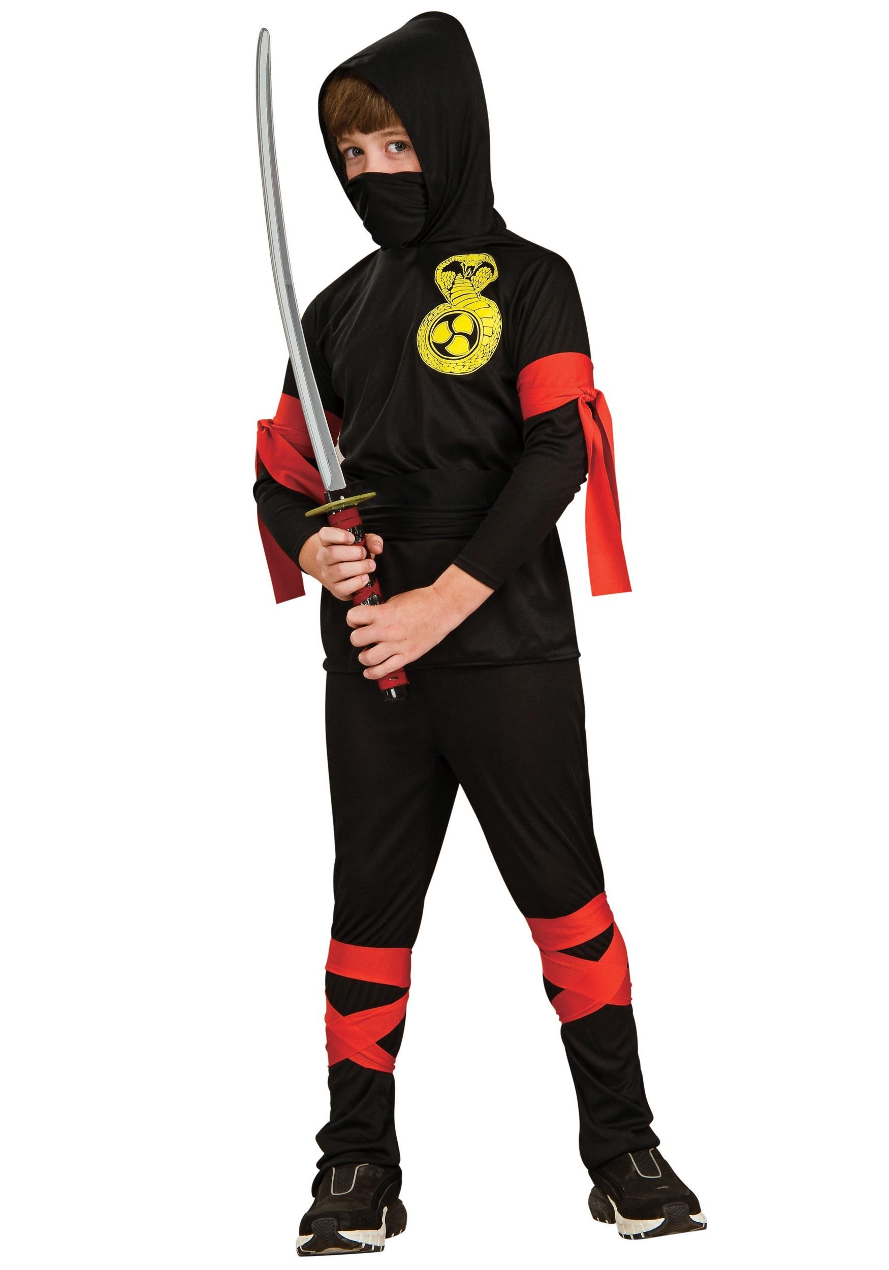 Kids Ninja Costume  sc 1 st  Halloween Costumes & Kids Ninja Costume - Halloween Costumes