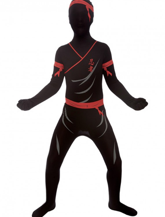 Kids Ninja Morphsuit, halloween costume (Kids Ninja Morphsuit)