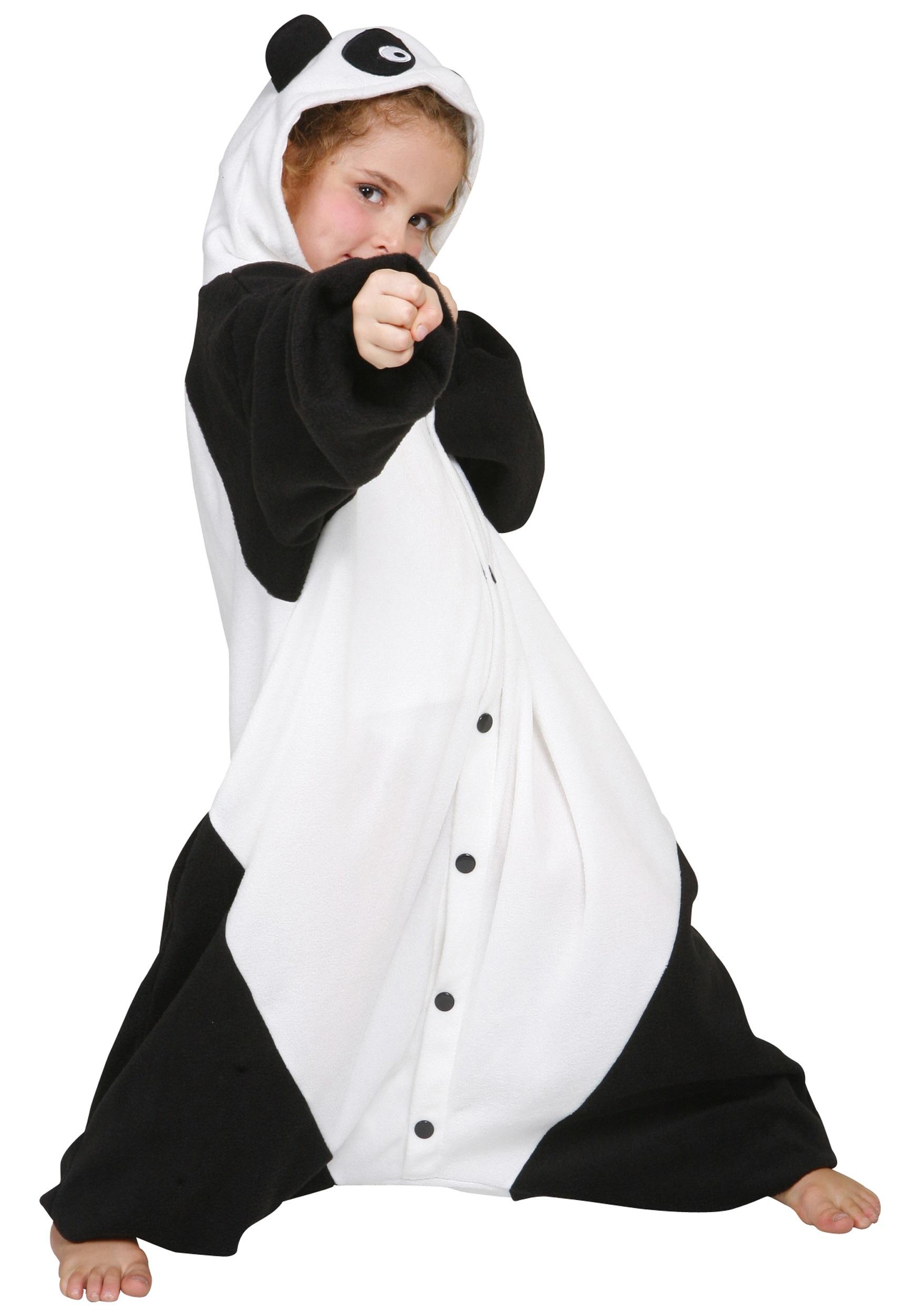 Kids Panda Pajama Costume  sc 1 st  Halloween Costumes & Kids Panda Pajama Costume - Halloween Costumes