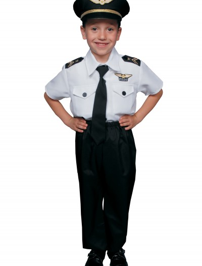 Kids Pilot Costume, halloween costume (Kids Pilot Costume)