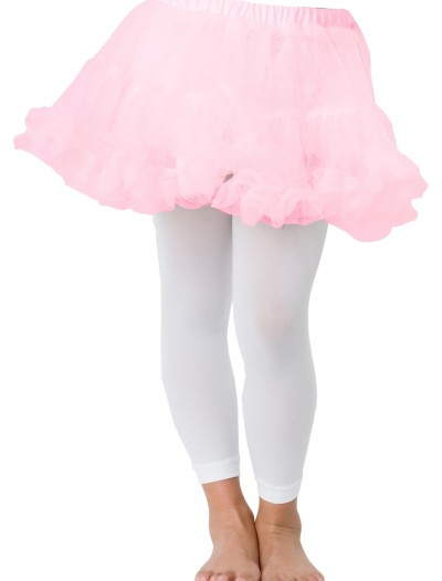 Kids Pink Petticoat, halloween costume (Kids Pink Petticoat)