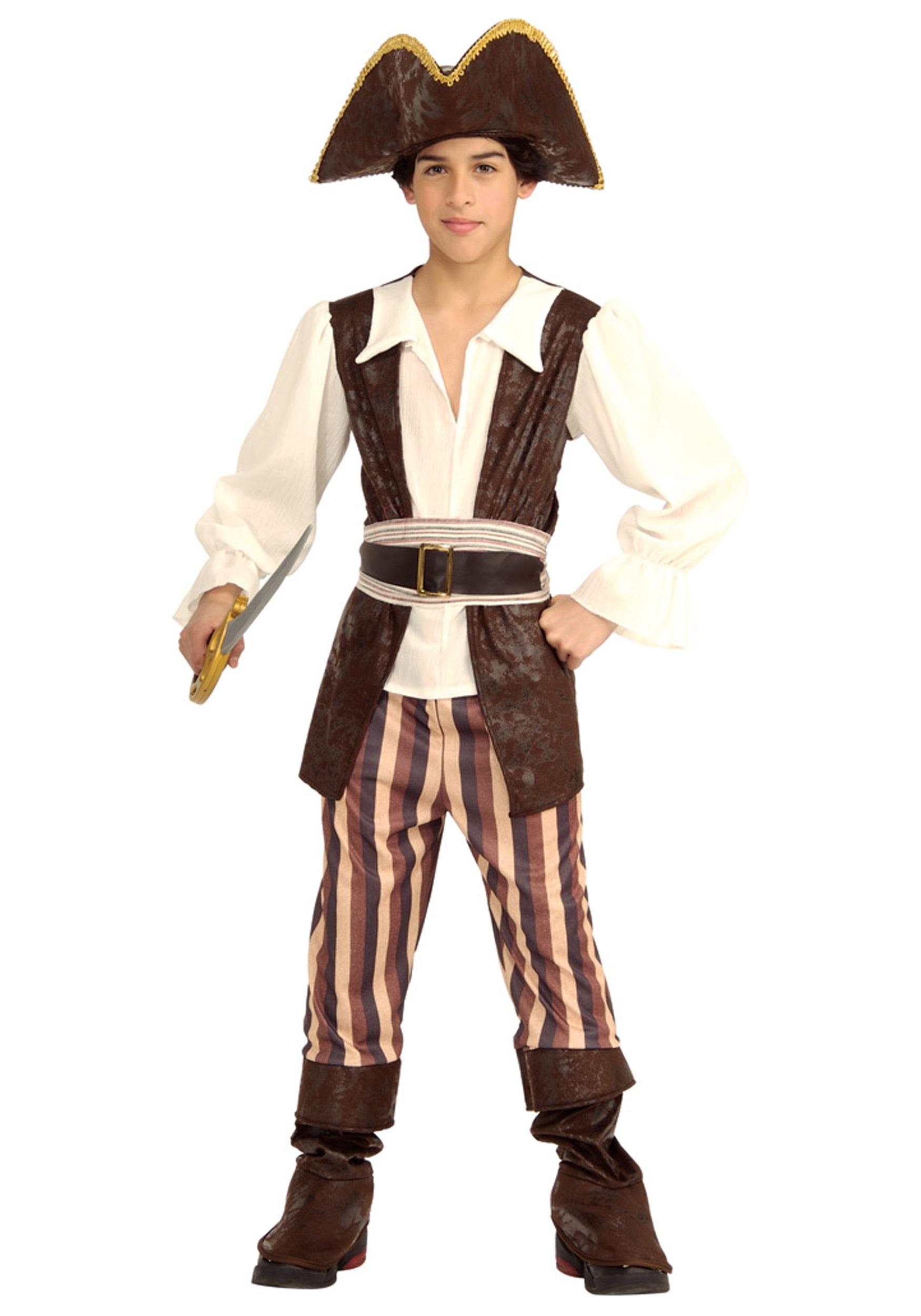kid's pirate costume - halloween costumes
