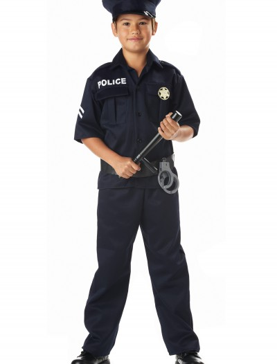 Kid's Police Costume, halloween costume (Kid's Police Costume)