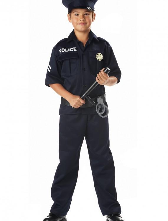 Kid's Police Costume, halloween costume (Kid's Police Costume)