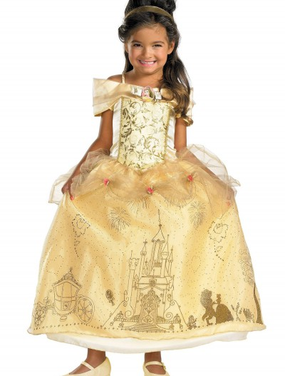 Kids' Prestige Belle Costume, halloween costume (Kids' Prestige Belle Costume)