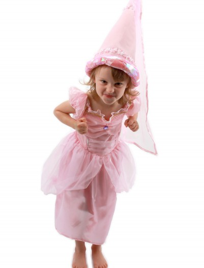 Kids Princess Pink Hat, halloween costume (Kids Princess Pink Hat)