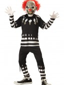 Kids Psycho Clown Costume, halloween costume (Kids Psycho Clown Costume)