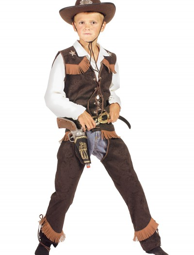 Kids Rawhide Cowboy Costume, halloween costume (Kids Rawhide Cowboy Costume)