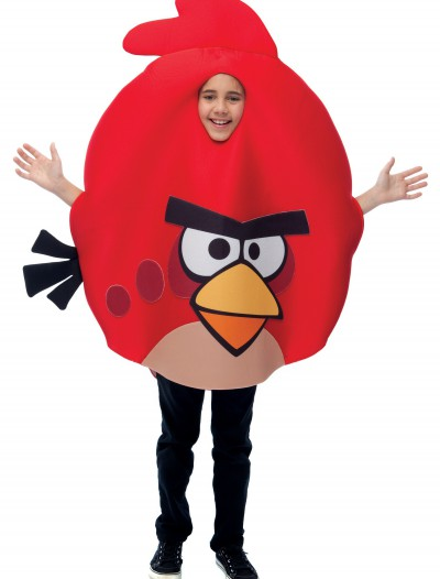 Kids Red Angry Bird Costume, halloween costume (Kids Red Angry Bird Costume)