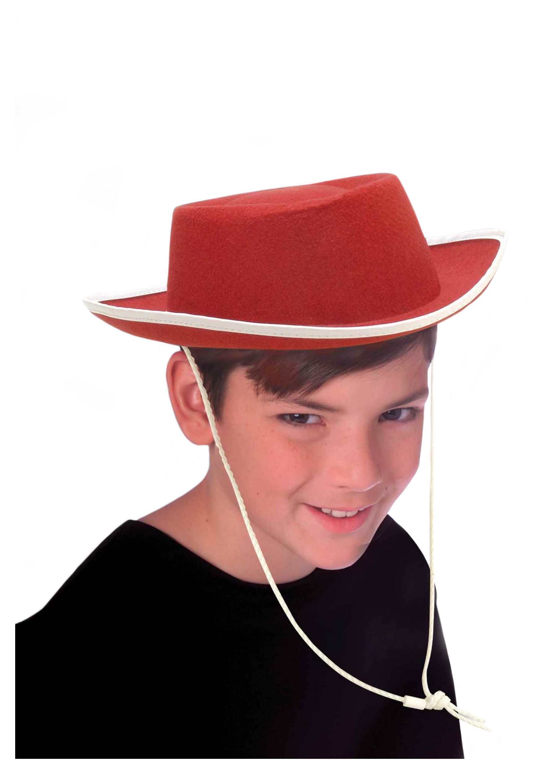 Kids Red Cowboy Hat - Halloween Costumes 56386e9cdfa