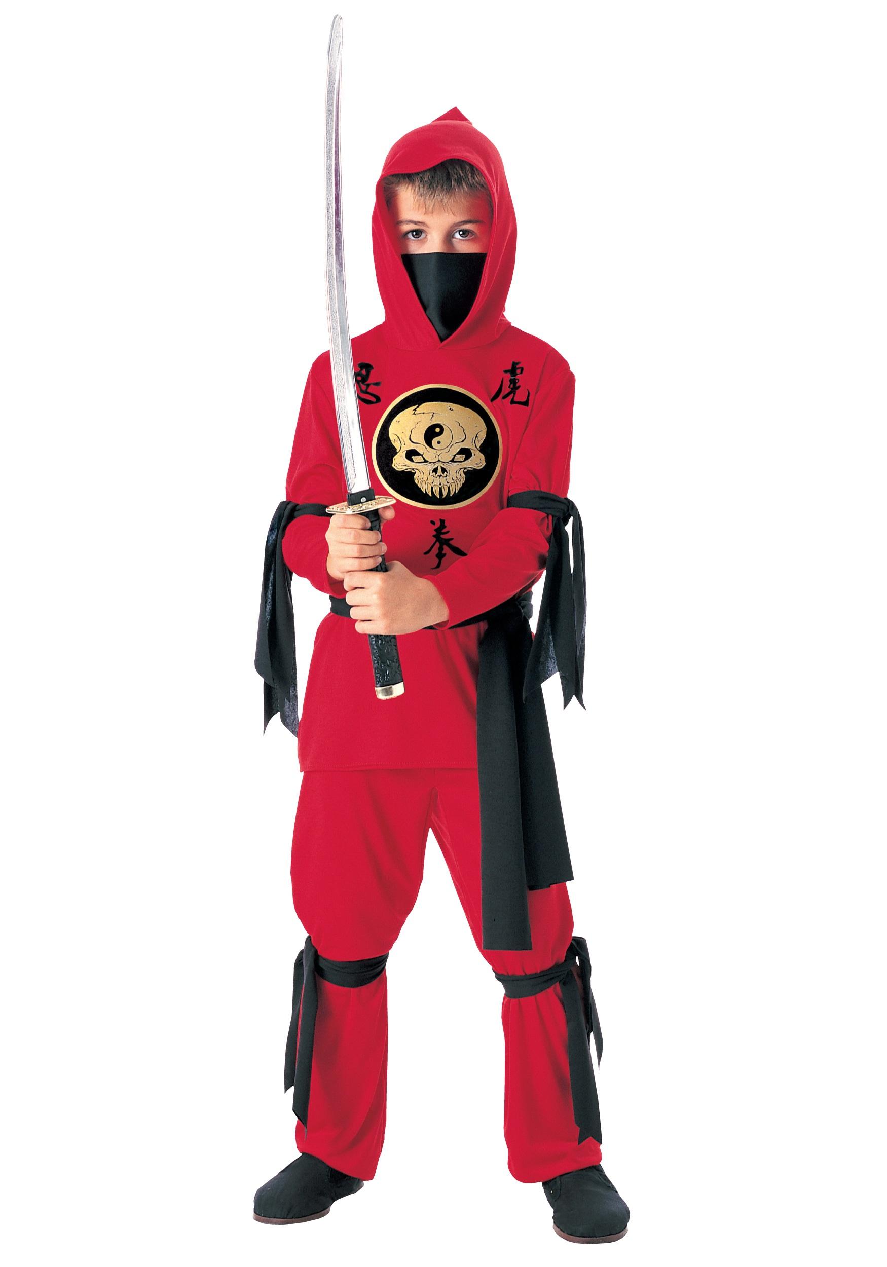 Как сделать костюм ниндзя для мальчика