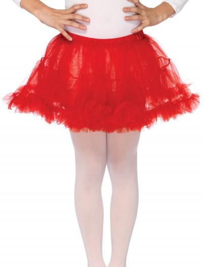 Kids Red Petticoat, halloween costume (Kids Red Petticoat)