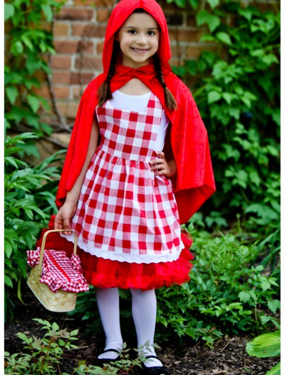 Kids Red Riding Hood Tutu Costume, halloween costume (Kids Red Riding Hood Tutu Costume)