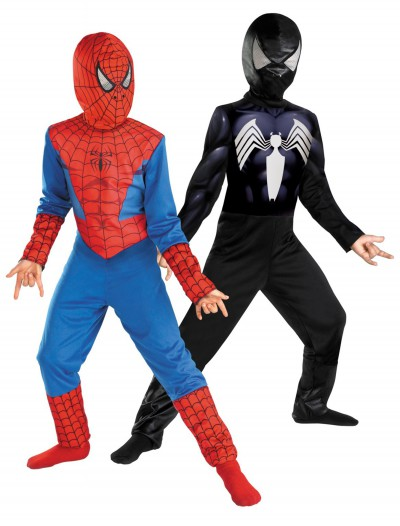 Kids Reversible Spiderman Costume, halloween costume (Kids Reversible Spiderman Costume)