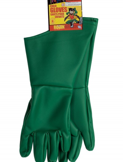 Kids Robin Gloves, halloween costume (Kids Robin Gloves)