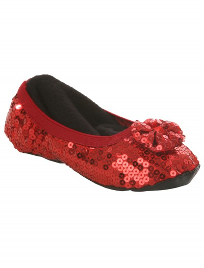 Kids Red Slippers, halloween costume (Kids Red Slippers)