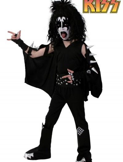 Kids Screenprint KISS Demon Costume, halloween costume (Kids Screenprint KISS Demon Costume)