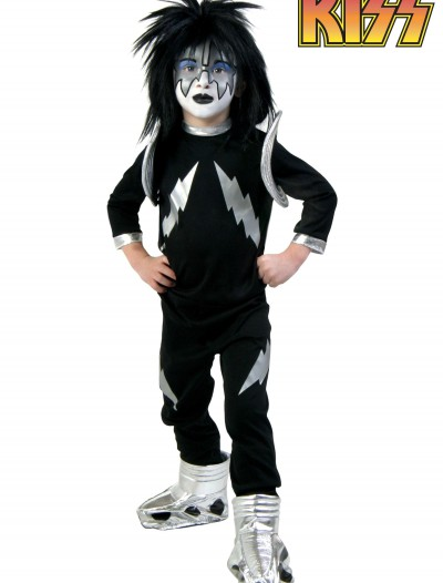 Kids Screenprint KISS Spaceman Costume, halloween costume (Kids Screenprint KISS Spaceman Costume)