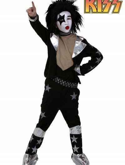 Kids Screenprint KISS Starchild Costume, halloween costume (Kids Screenprint KISS Starchild Costume)