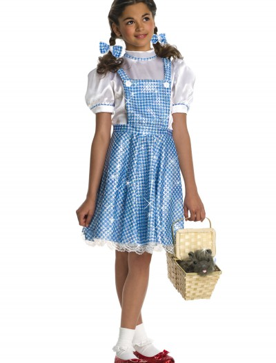 Kids Sequin Dorothy Costume, halloween costume (Kids Sequin Dorothy Costume)