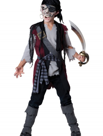 Kids Shipwrecked Pirate Costume, halloween costume (Kids Shipwrecked Pirate Costume)