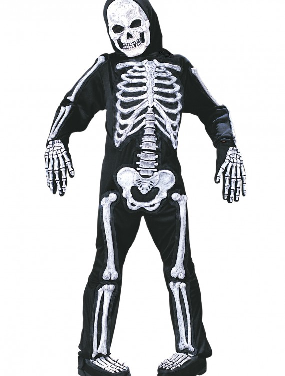 Kids Skeleton Costume, halloween costume (Kids Skeleton Costume)