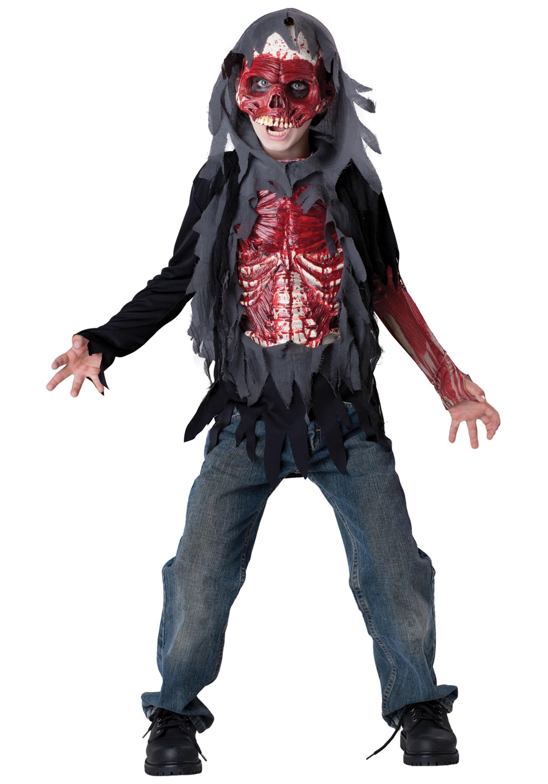 Костюм на хэллоуин для мальчика своими руками для мальчика