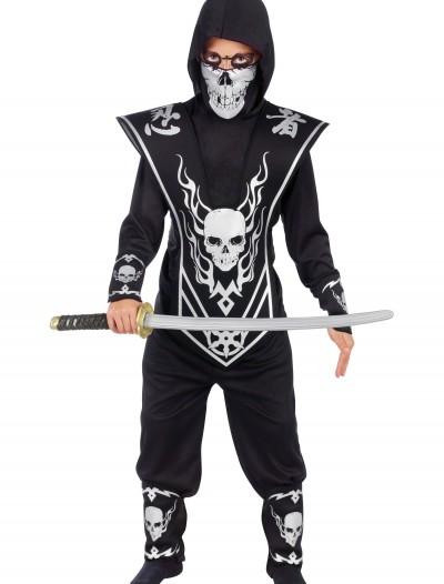 Kids Skull Ninja Costume, halloween costume (Kids Skull Ninja Costume)