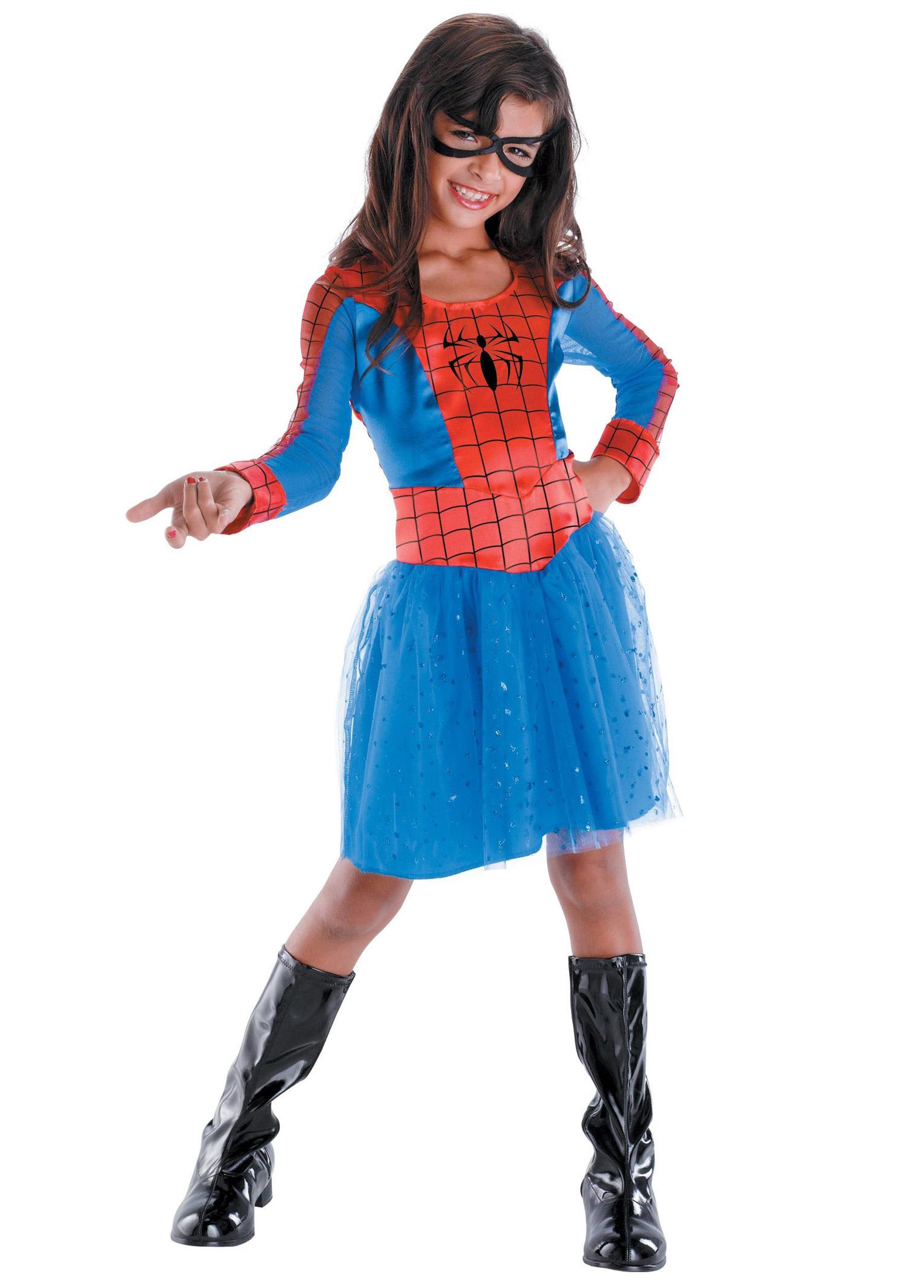 Kids Spider Girl Costume  sc 1 st  Halloween Costumes & Kids Spider Girl Costume - Halloween Costumes