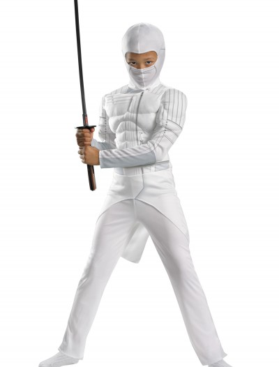 Kids Storm Shadow Muscle Costume, halloween costume (Kids Storm Shadow Muscle Costume)
