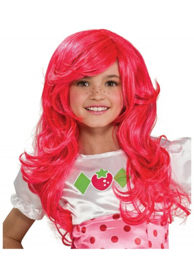 Kids Strawberry Shortcake Wig, halloween costume (Kids Strawberry Shortcake Wig)