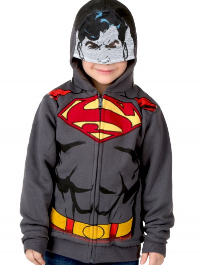Kids Superman Costume Hoodie, halloween costume (Kids Superman Costume Hoodie)