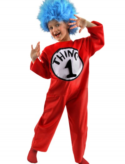 Kids Thing 1 and 2 Costume, halloween costume (Kids Thing 1 and 2 Costume)