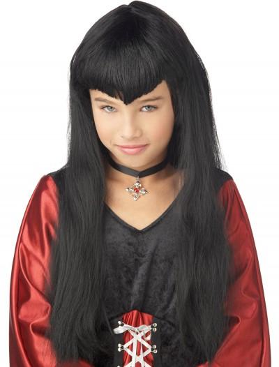 Kid's Vampire Wig, halloween costume (Kid's Vampire Wig)