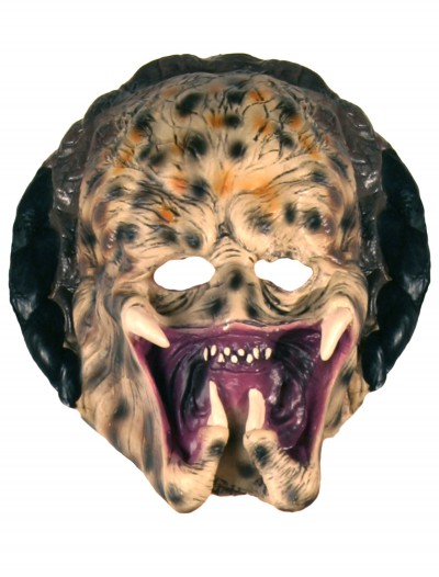 Kids Vinyl Predator Mask, halloween costume (Kids Vinyl Predator Mask)