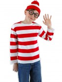 Kids Waldo Costume, halloween costume (Kids Waldo Costume)