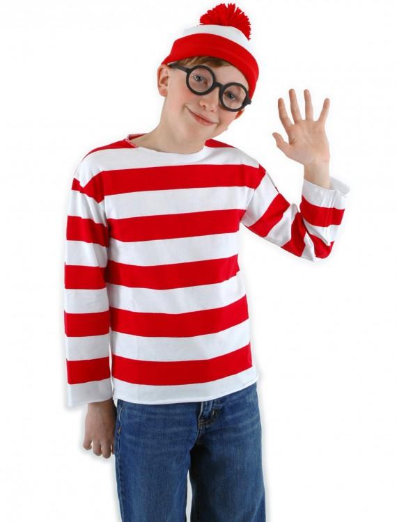 Kids Waldo Costume, halloween costume (Kids Waldo Costume)