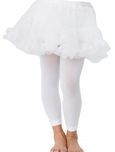 Kids White Petticoat, halloween costume (Kids White Petticoat)