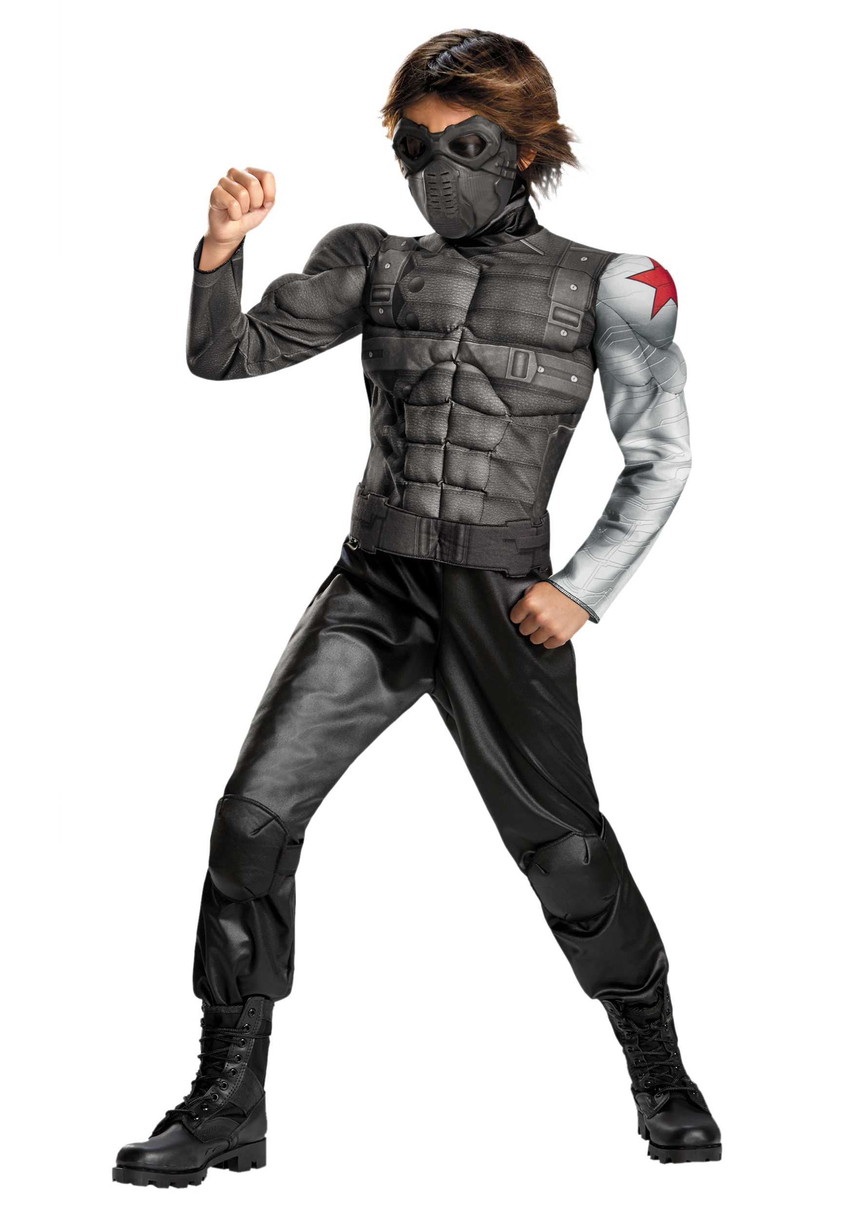 Kids Winter Soldier Classic Muscle Costume  sc 1 st  Halloween Costumes & Kids Winter Soldier Classic Muscle Costume - Halloween Costumes
