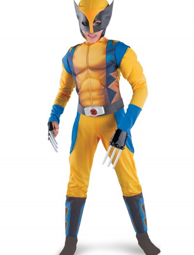 Kids Wolverine Origins Costume, halloween costume (Kids Wolverine Origins Costume)