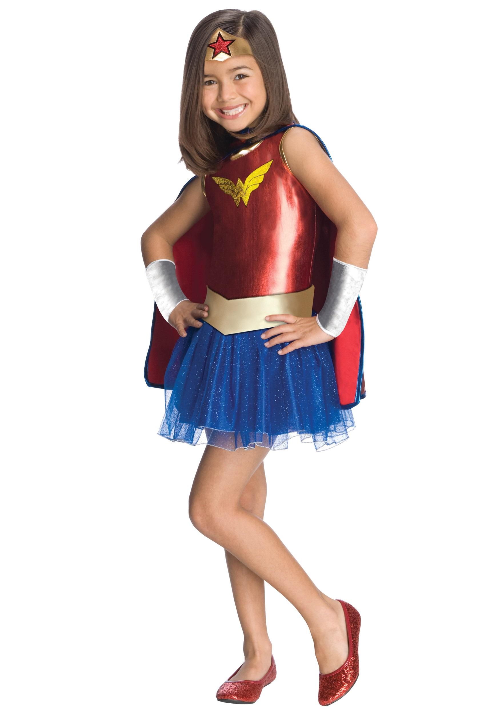 Kids Wonder Woman Tutu Costume  sc 1 st  Halloween Costumes & Kids Wonder Woman Tutu Costume - Halloween Costumes