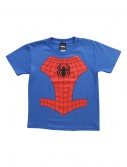 Kids Youth Spider-Man Costume TShirt, halloween costume (Kids Youth Spider-Man Costume TShirt)