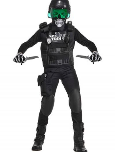 Kids Zombie Navy Seal Costume, halloween costume (Kids Zombie Navy Seal Costume)